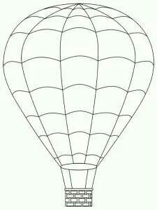 Pin By Linda Wingmark On Digi Stamps Hot Air Balloon Clipart Air Balloon Hot Air Balloon Craft