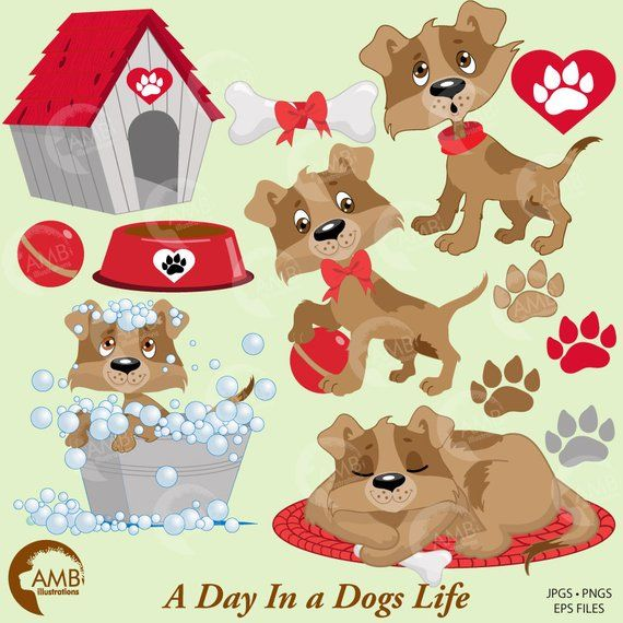 Puppy Dog Clipart Dog Clip Art Animal Clipart Pet Clipart Dog