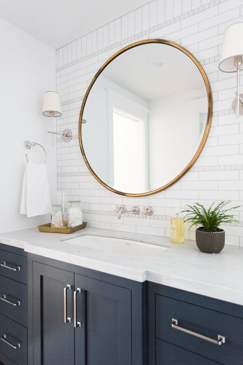 Windsong Tour Basement Pt 1 Round Mirror Bathroom Bathroom Mirror Minimalist Mirrors [ 1400 x 933 Pixel ]