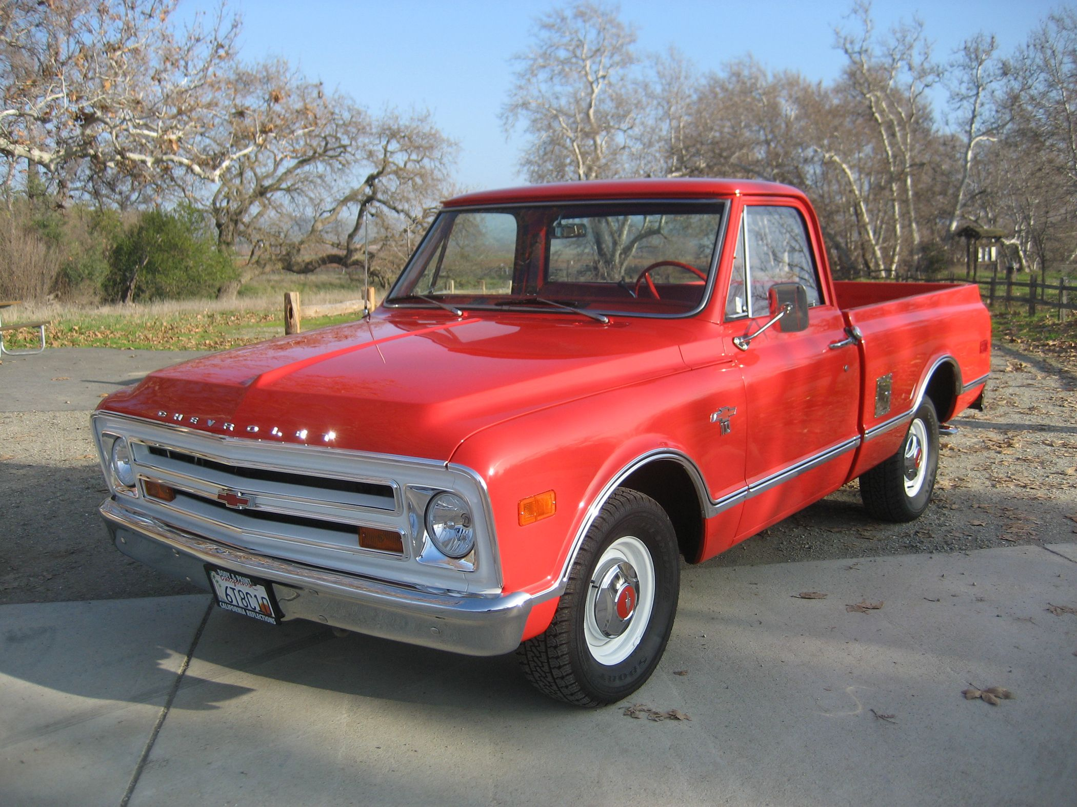 My Dad Drove A 68 Chevy Pickup Identical To This One For As Long