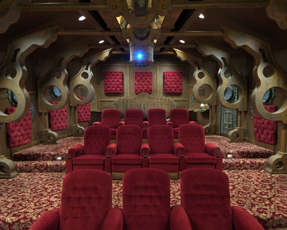 11 Amazing Geek Home Theaters