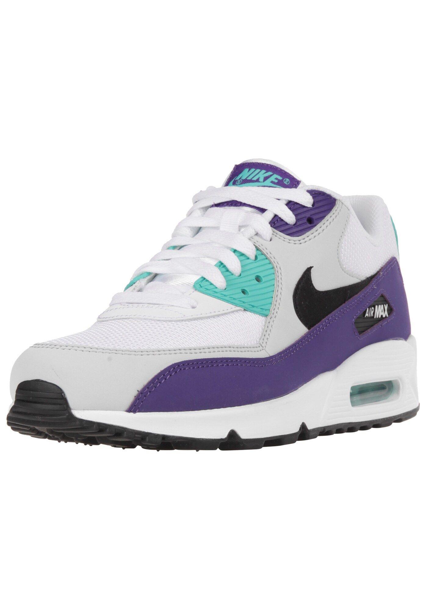 Nike Sportswear Sneaker Air Max 90 Essential Herren Turkis Mauve Schwarz Weiss Grosse 47 5 Nike Sportswear Nike Und Air Max 90