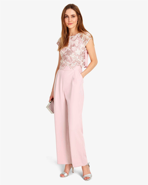 a32f3dfe9b6 Amazon.co.uk  white lace jumpsuit