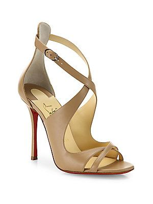 purchase cheap 14c97 d2222 Christian Louboutin Malefissima Leather Sandals | Products ...