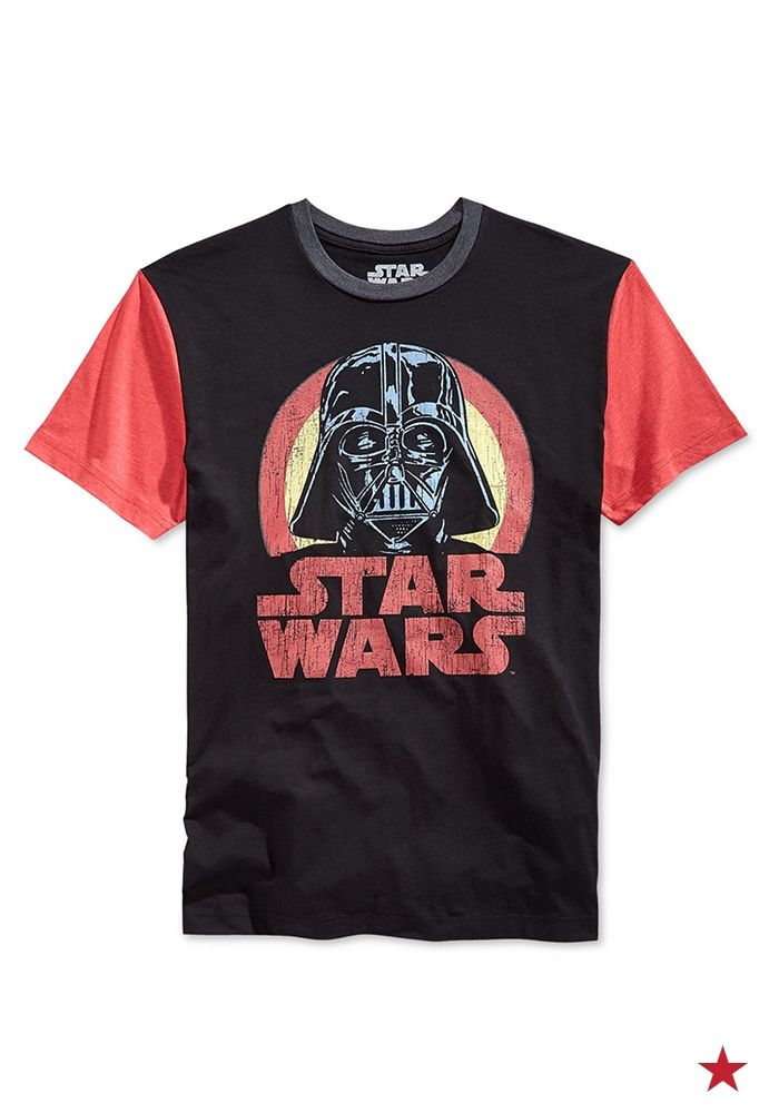 395b1a3bb Celebrate Star Wars Day with your little one! This classic Darth Vader graphic  t-shirt is an epic win.
