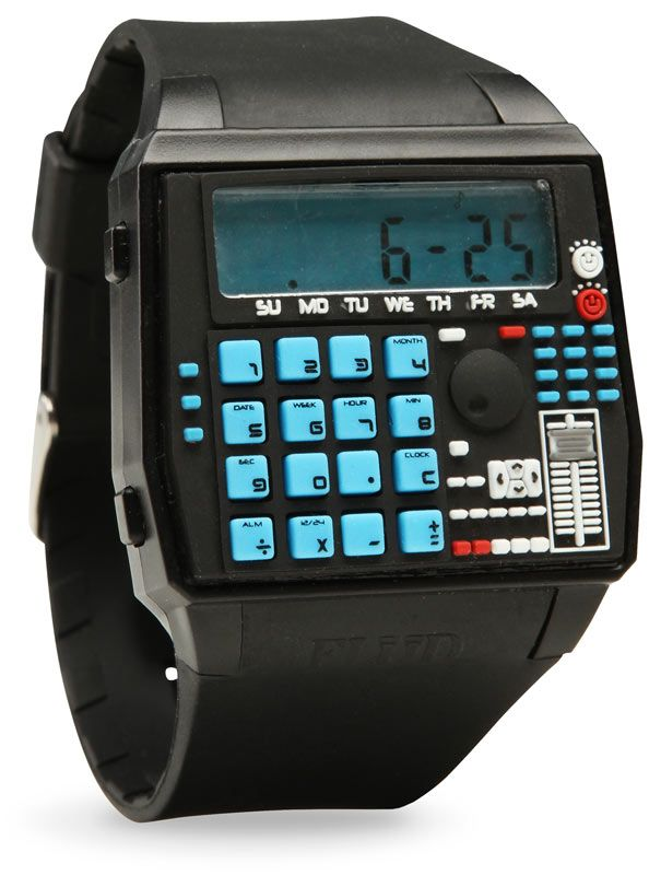 BPM Drum Machine Style Calculator Wristwatch Watch Your Style - time card calculator