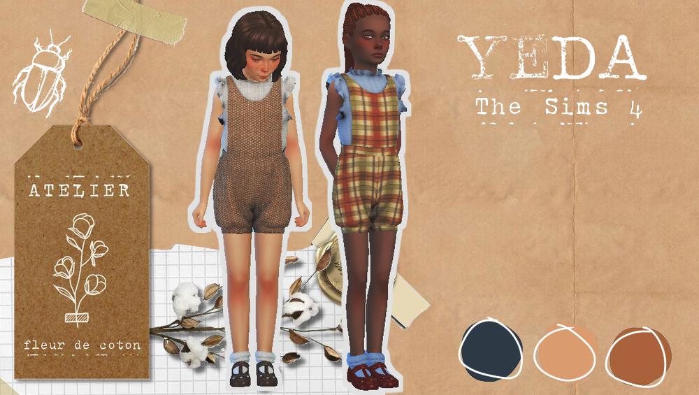 Yeda | The Sims 4 CC | Ts4 CC | Atelier Fleur de C