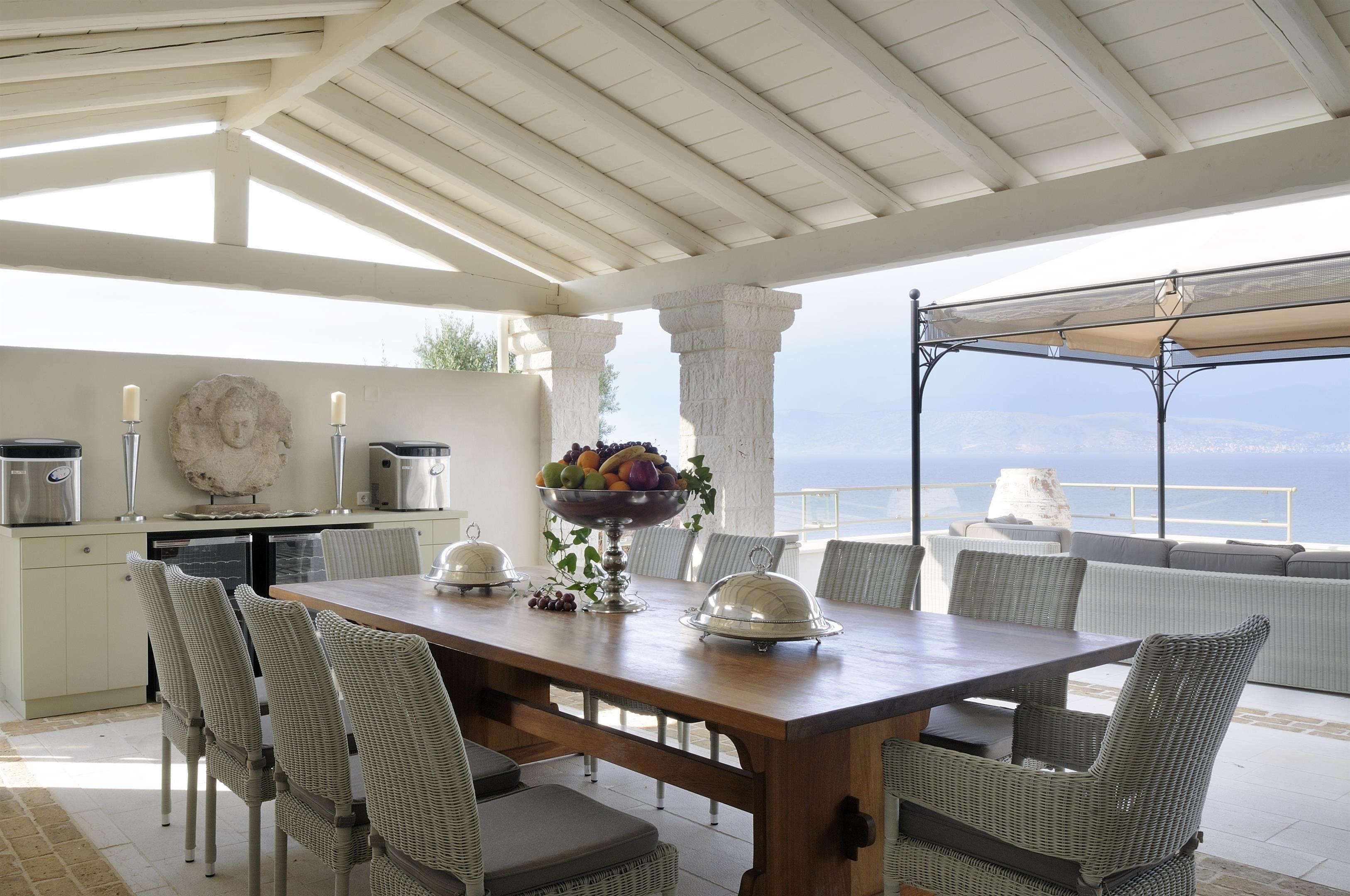 Villa Adriana Luxury Villa In Corfu Greece The Greek Villas Villas In Corfu Luxury Villa Stunning Interior Design