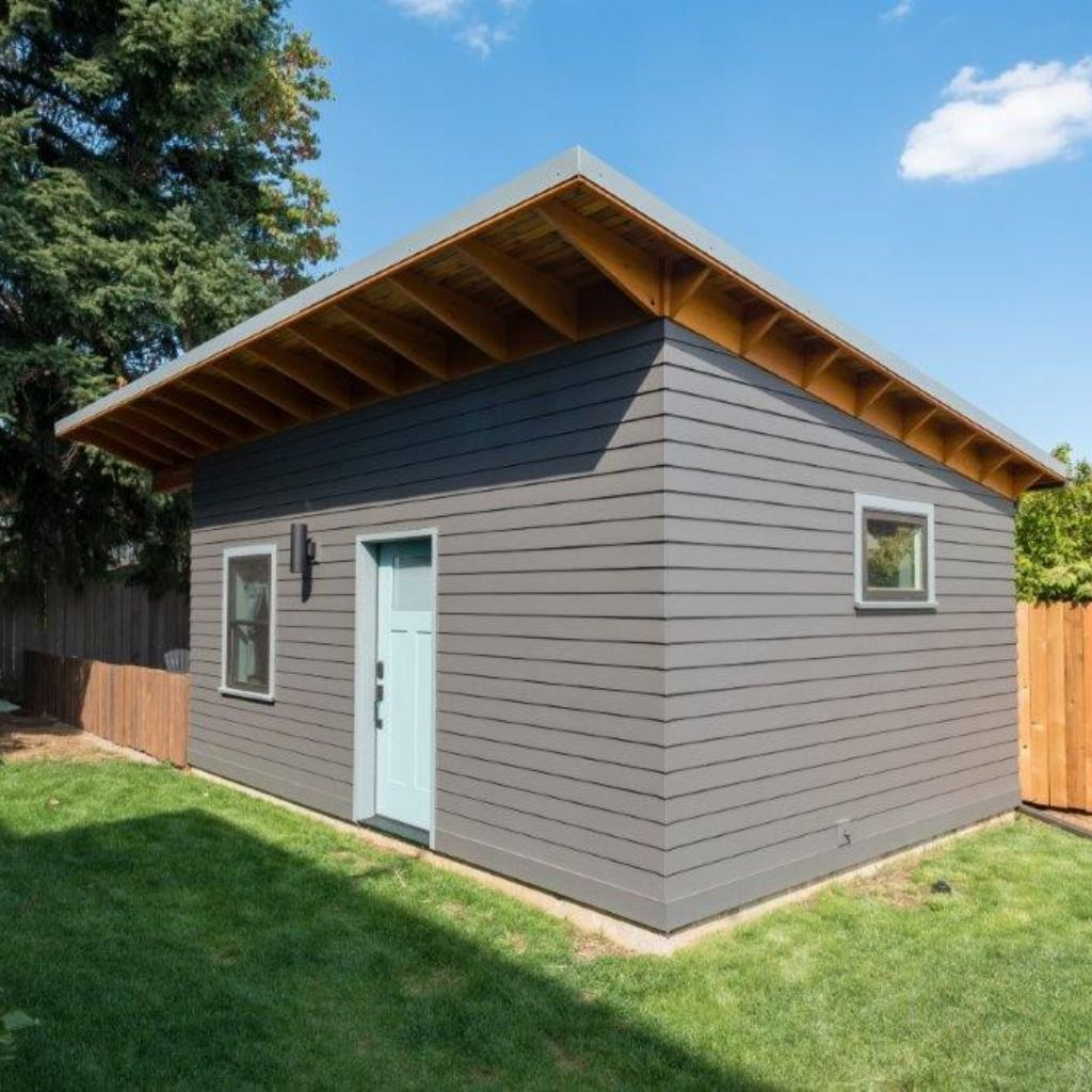 Perfect Airbnb Guest Suite In Portland Oregon Add This Valuable Space To Your Backyard And Join The Backyard Renta Building Design Backyard Design Build Firm