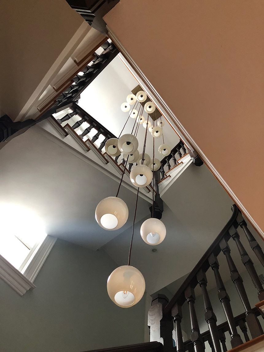 #installations #interiors #customlighting #Lighting #LightingDesign #GlassBlower #LightingAcessories #glassobjects