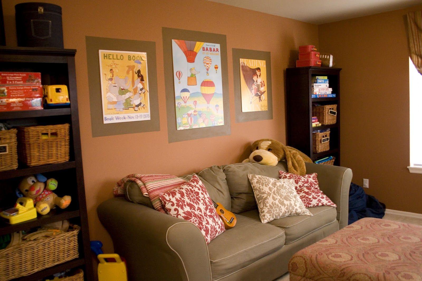 Farmhouse Playroom Paint Colors