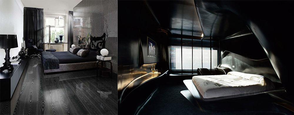 Schwarz Schlafzimmer Ideen Schlafzimmer Dekoration Tipps, Fotos und