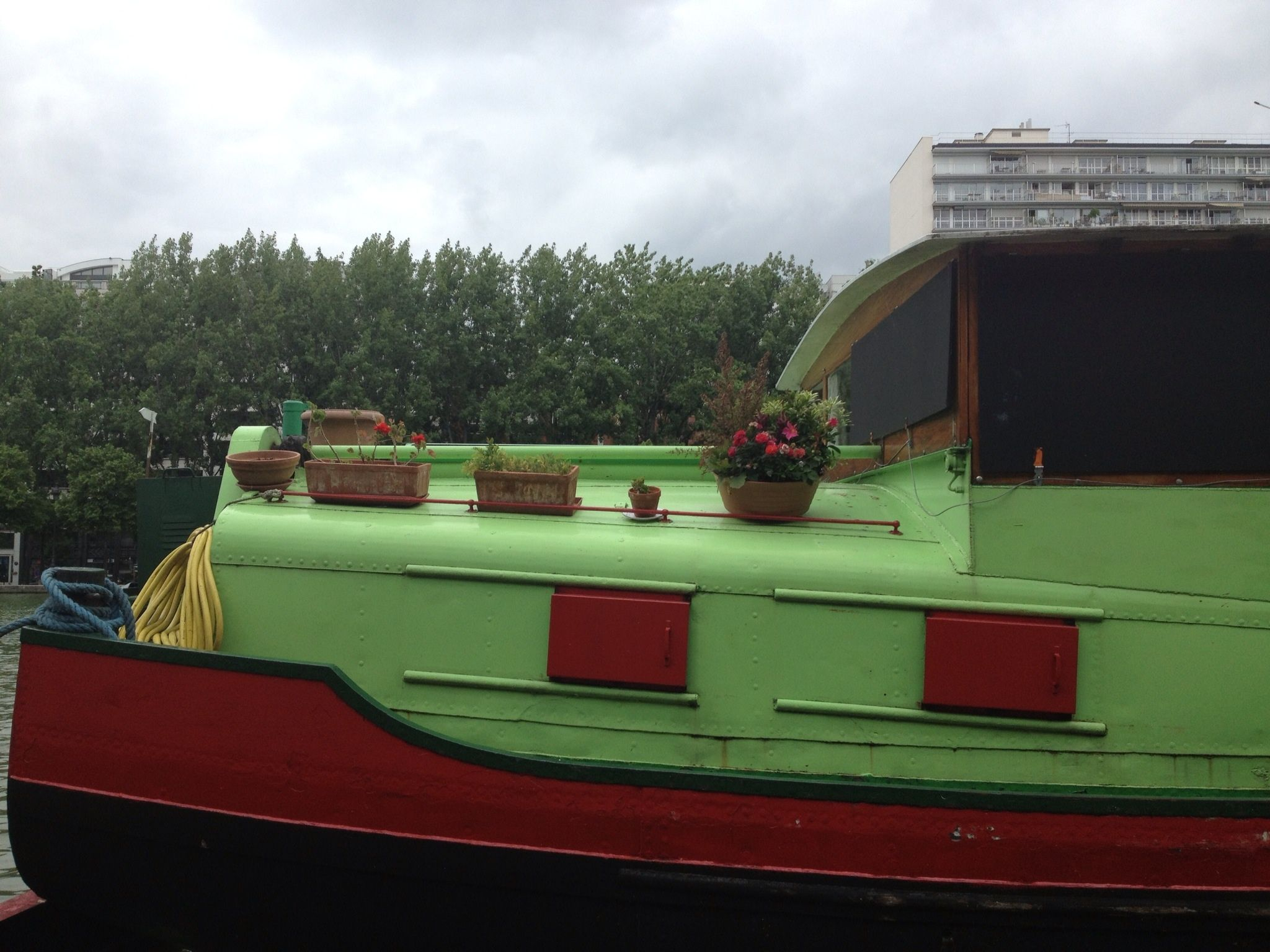 Tug boat Paris, France
