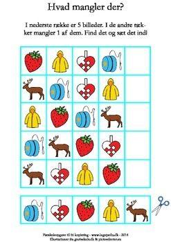 Hvad Mangler Der J Sequencing Cards Me On A Map Montessori Math