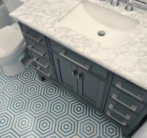 ombrelo hexagon cement tile #homedecor #homedecorating #
