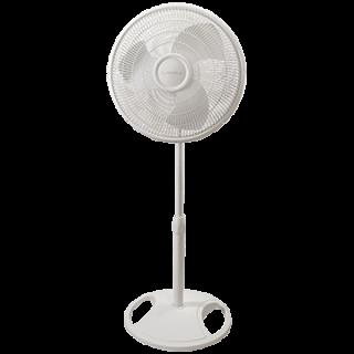 16 Oscillating Stand Fan In White Lasko Stand Fan Lasko