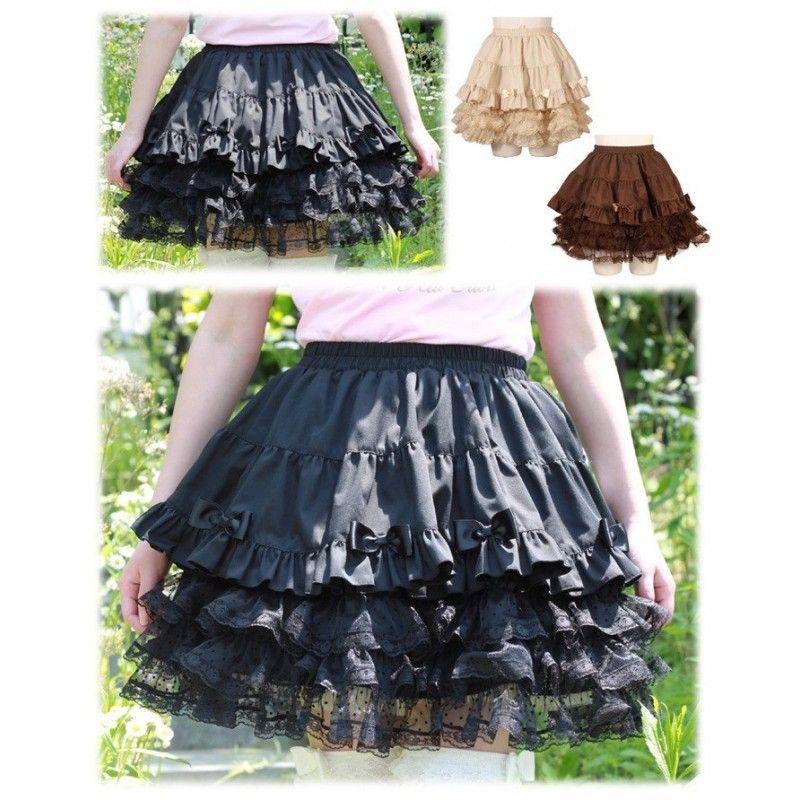Falda ropa japonesa lolita gosloli chica princess bodyline - Mikoku Corporation