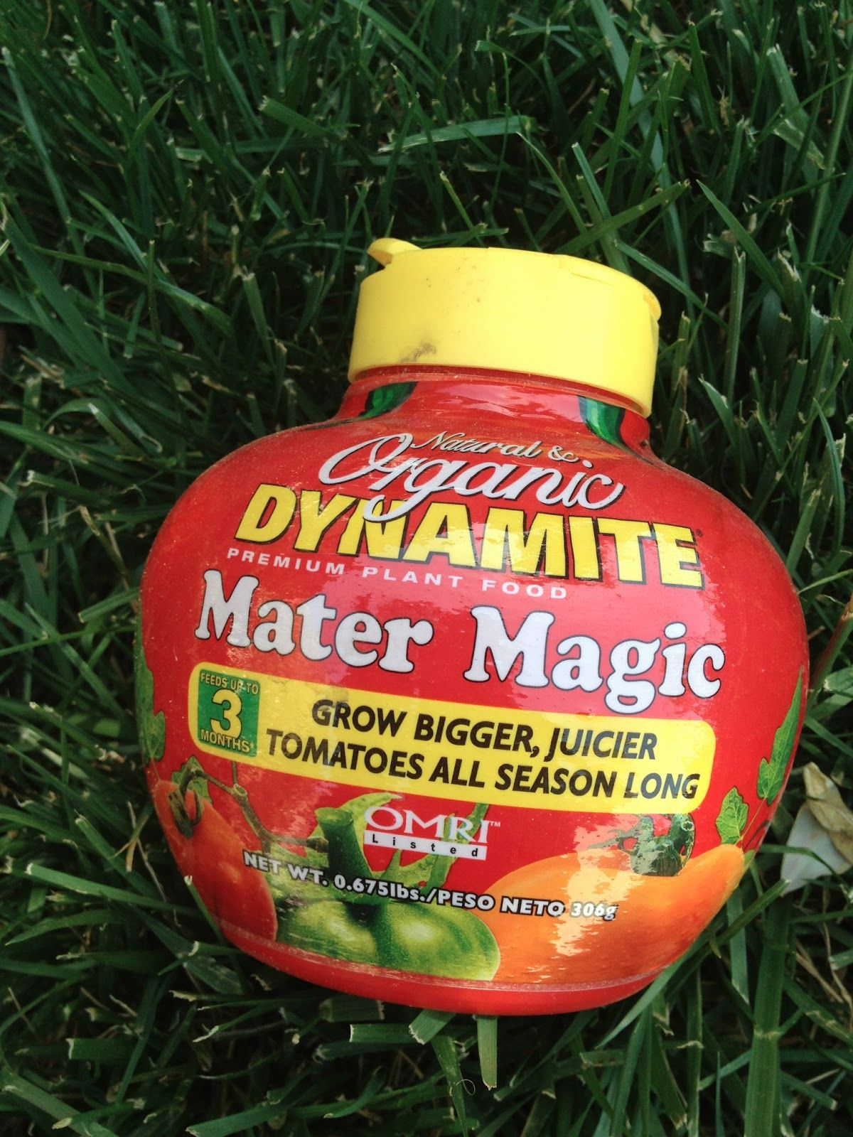 Mater Magic from Home Depot - organic fertilizer for