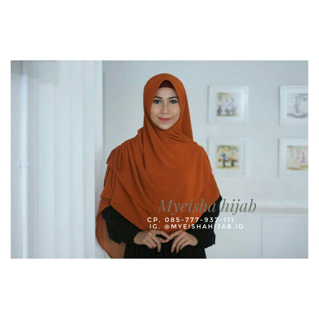 Jilbab Hijab Aksesoris Grosir Anak Model Pashmina Instan Pasmina  Medium