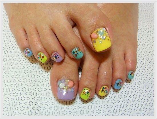 Cute Toe Nail Art Designs 2014 Ils Pinterest Toe Nail Art