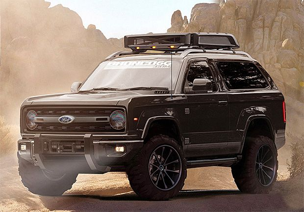 2020 Ford Bronco Concept 4x4 off road SUV 23L EcoBoost 10
