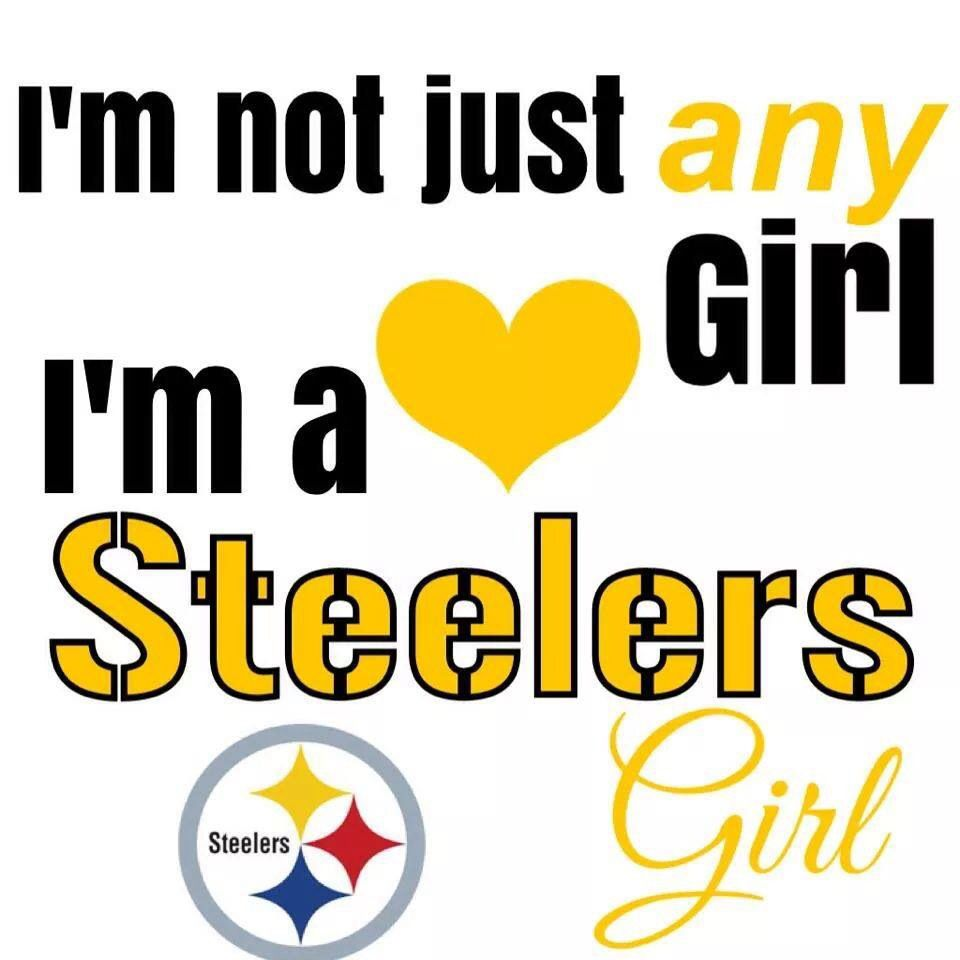 Steelers girl for sure!! the best kind.. a Black n Gold Girl ...