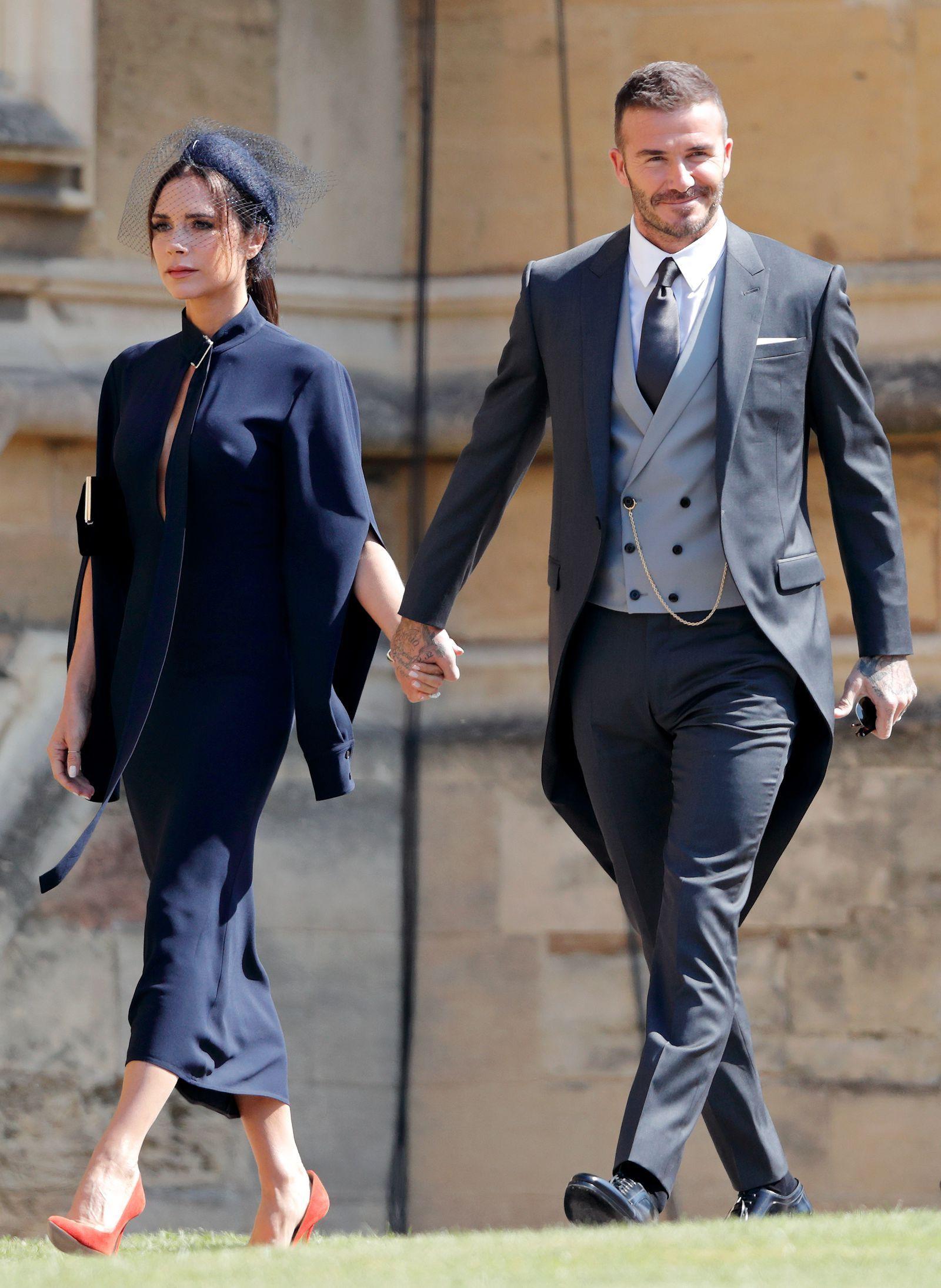 Victoria Beckham Royal Wedding Dress