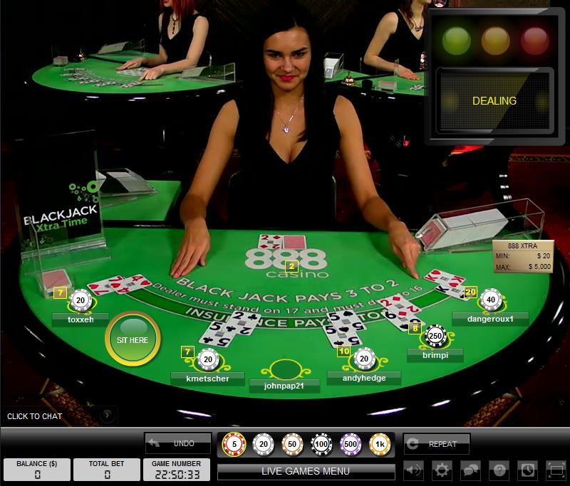 Casino 888 Live