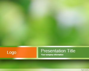 Sustainable powerpoint template with green background and blur sustainable powerpoint template with green background and blur effect toneelgroepblik Choice Image