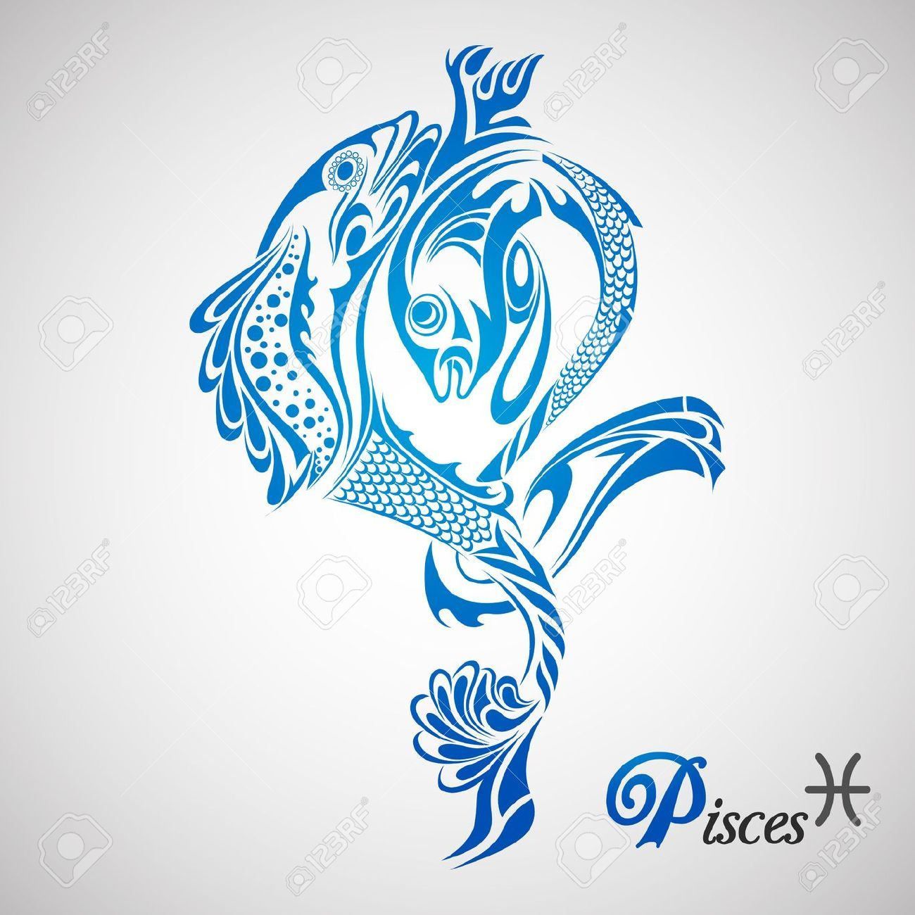 List Of Pinterest Pisces Zodiac Tattoo Design Signs Images Pisces