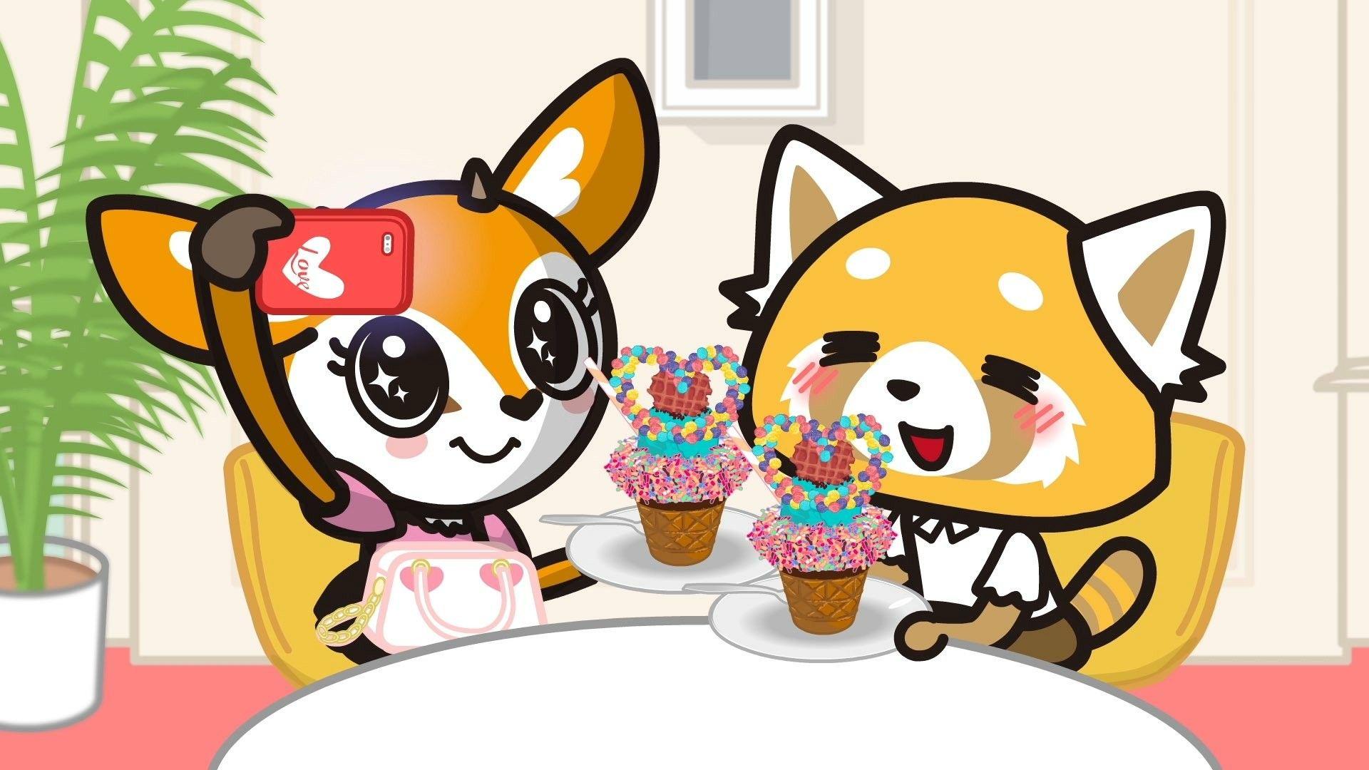 Aggretsuko Anime animals, Anime, Anime movies