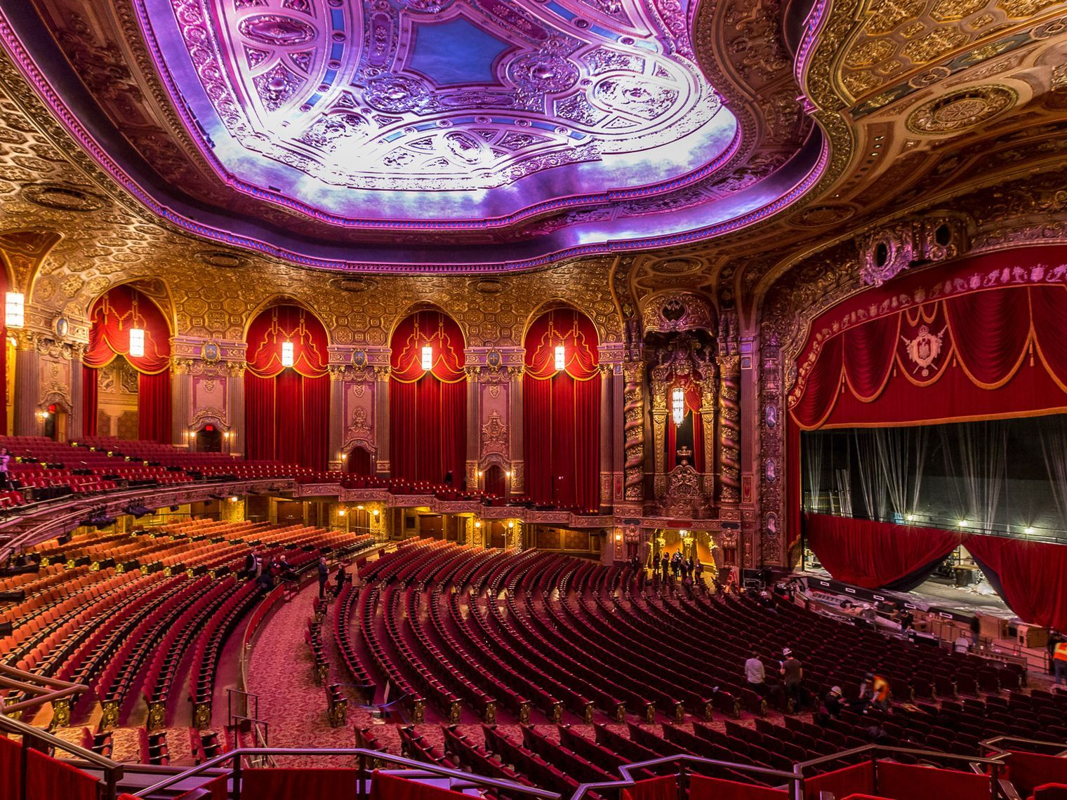 The Most Beautiful Interiors In New York City Mapped Beautiful Interiors Theatre Interior Theatre Inspiration