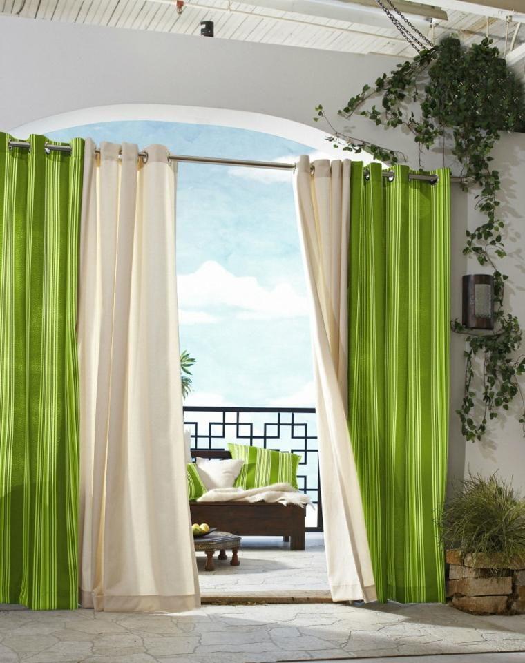 cojines y cortinas combinados decoracion cortinas Pinterest
