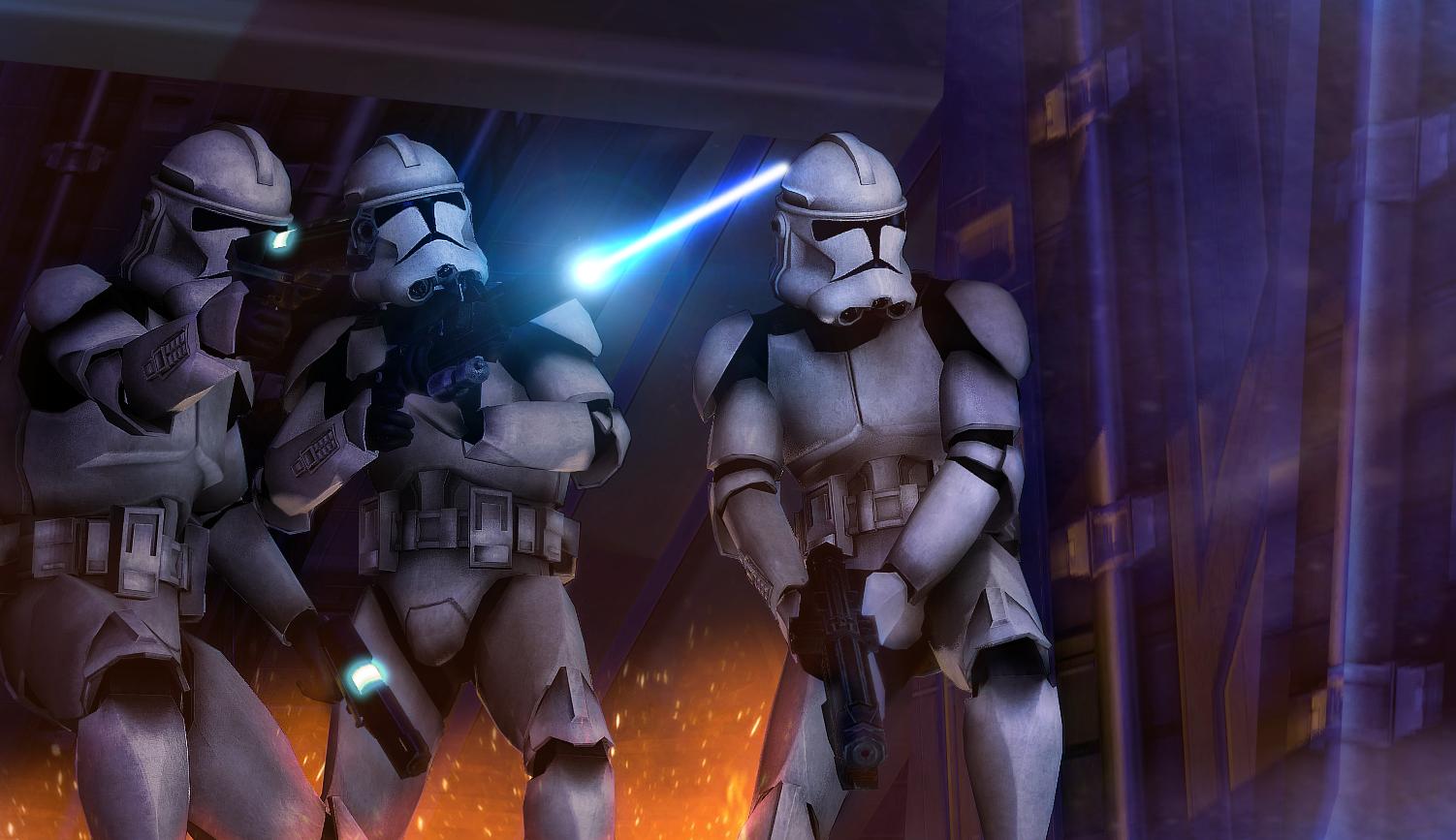 Clone Trooper Boarding Party By Lordofcombine On Deviantart Star Wars Pictures Star Wars Wallpaper Star Wars Art