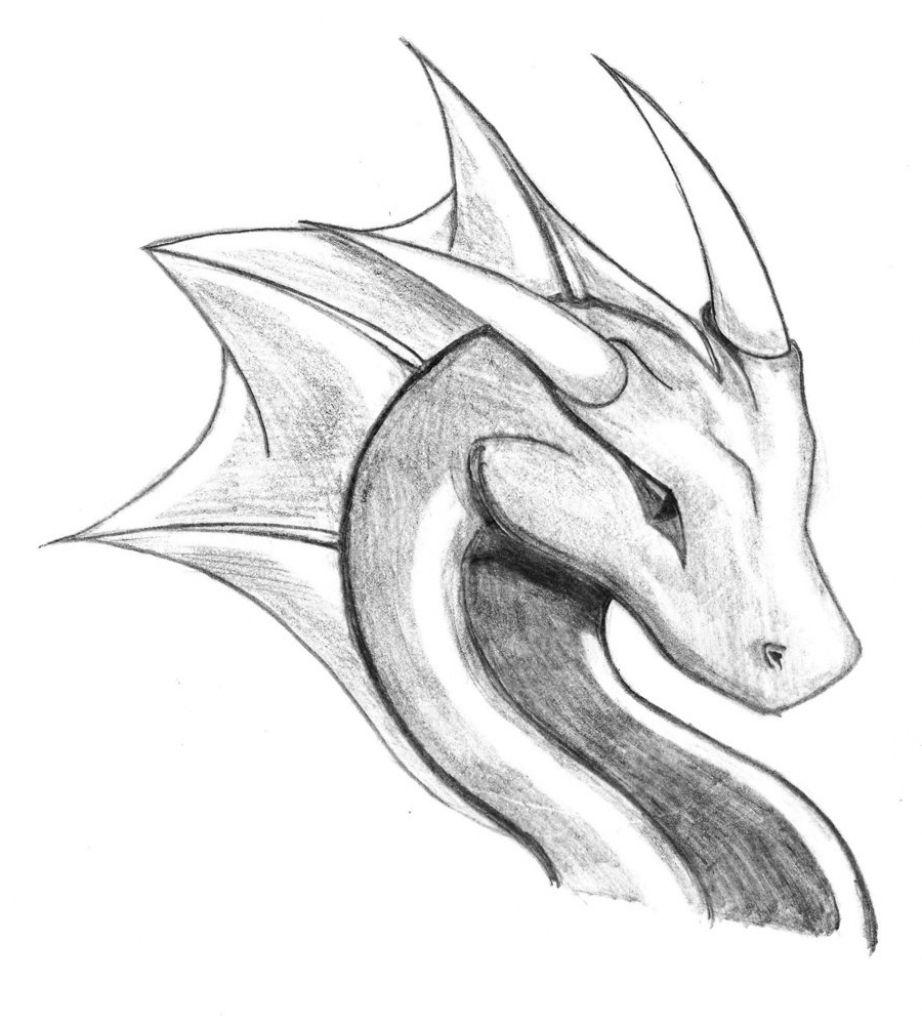 dragon drawing Easy to draw dragons jpg en 2020   Idées esquisses, Facile à dessiner, Dessin ...