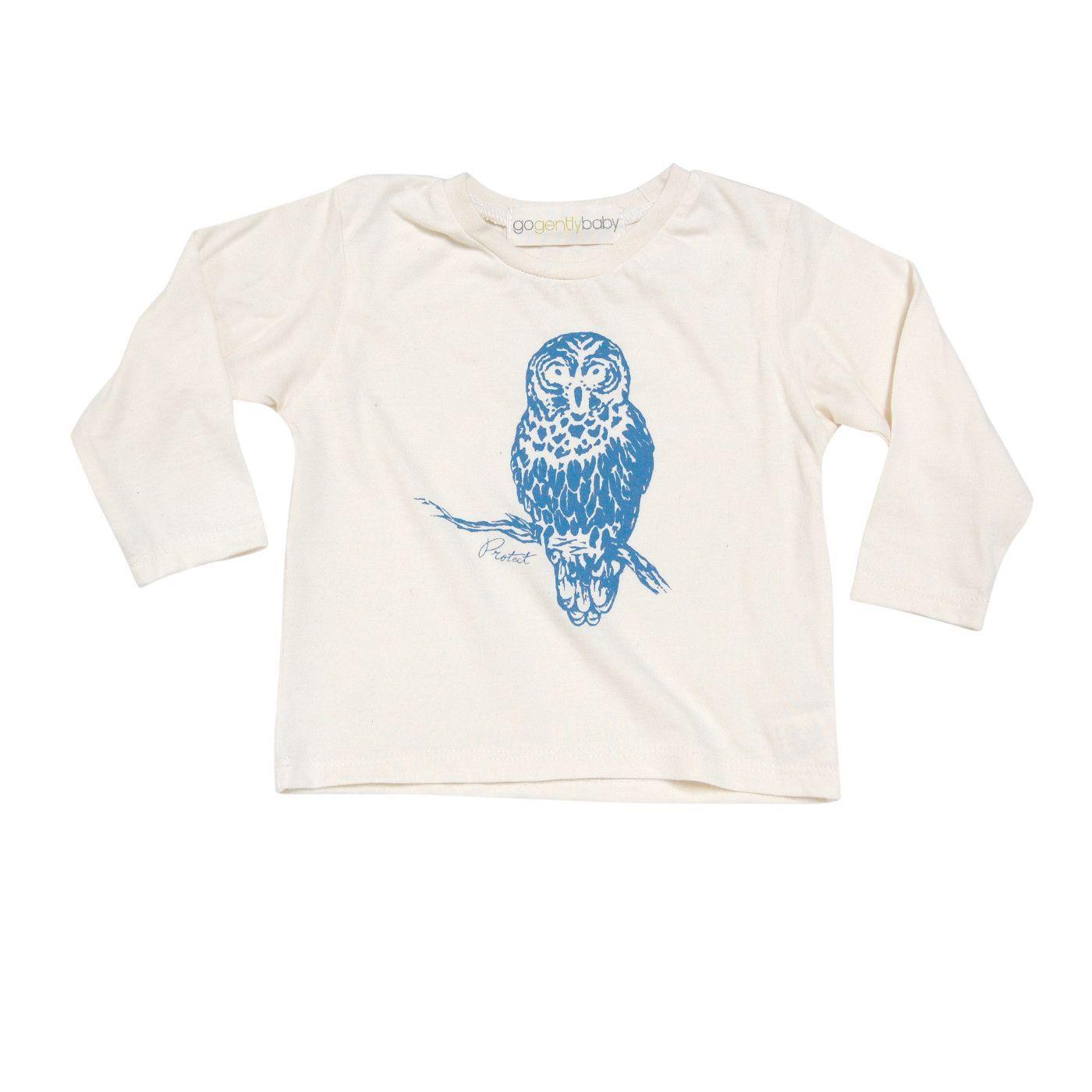 Blue Owl Long Sleeve Tee