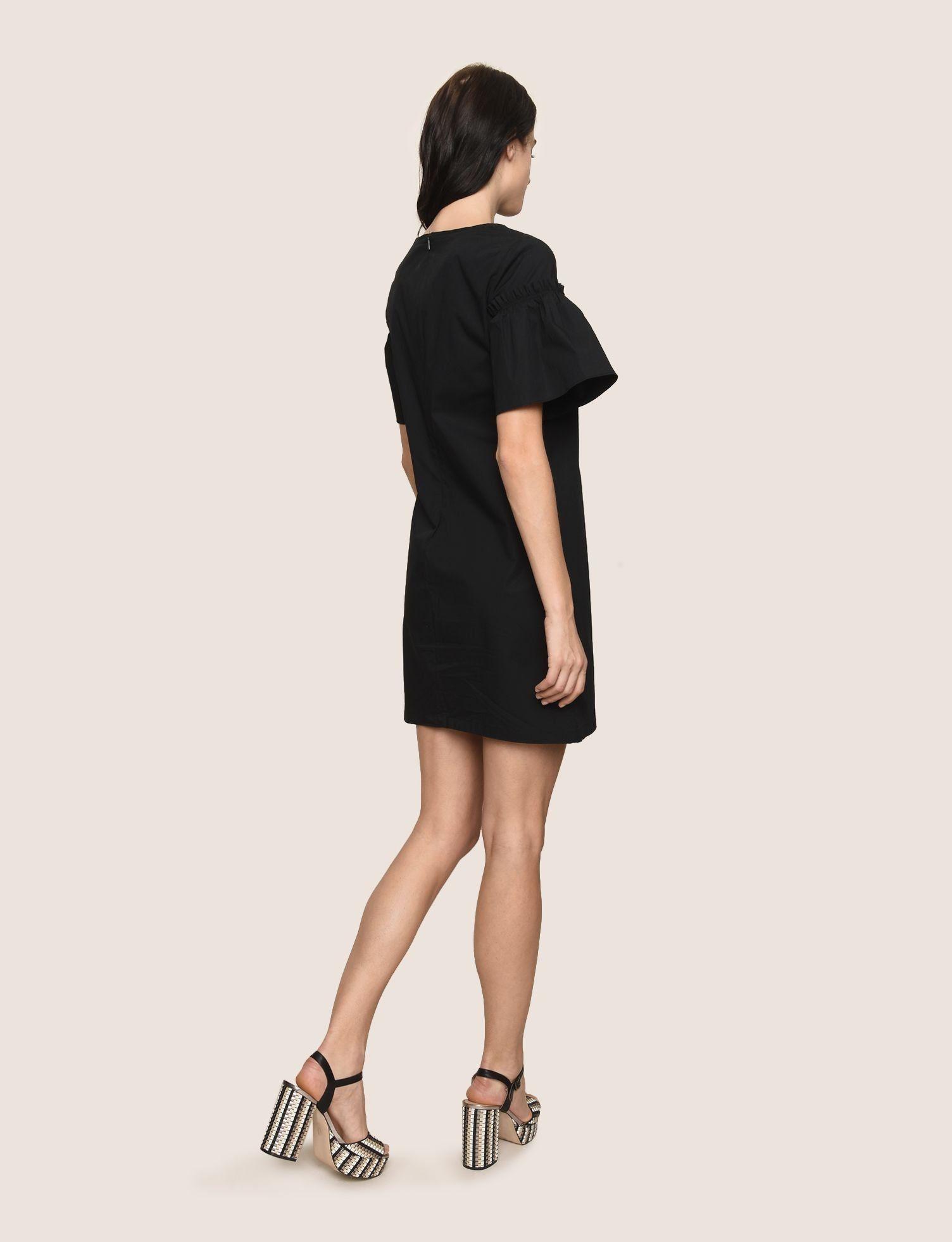 Ax Armani Exchange Womens Structured Shoulder Dress Black 4 Click Image For More Details Affiliate Link Dresses Dresses Black Dress Shoulder Dress [ 1962 x 1504 Pixel ]