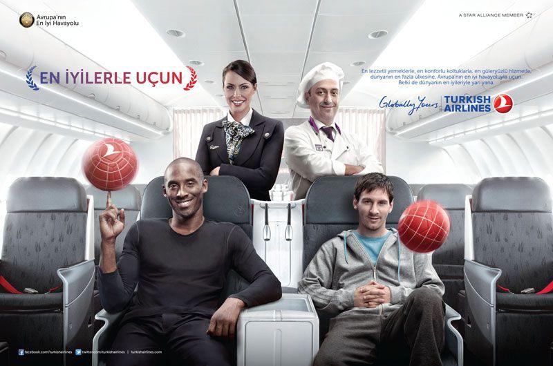 Image result for turkish airlines kobe bryant