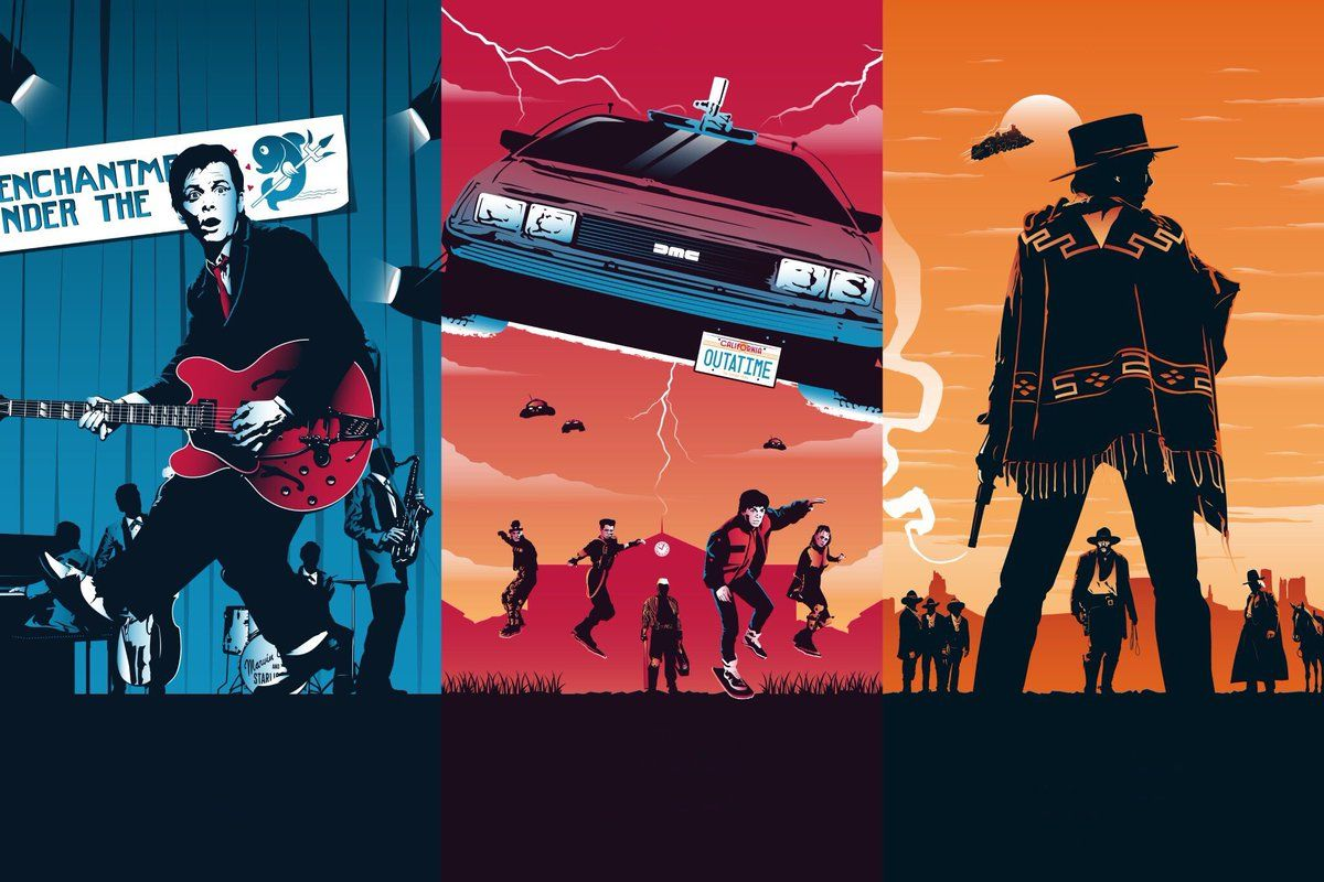 Idevicewallpapers On Twitter Back To The Future Future Poster The Future Movie