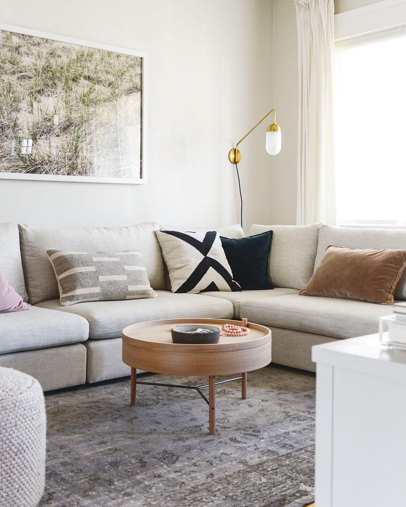 Merveilleux Deco Appartement, Cuisine Ouverte, Future Maison, Fauteuil, Salon Moderne,  Salon Gris