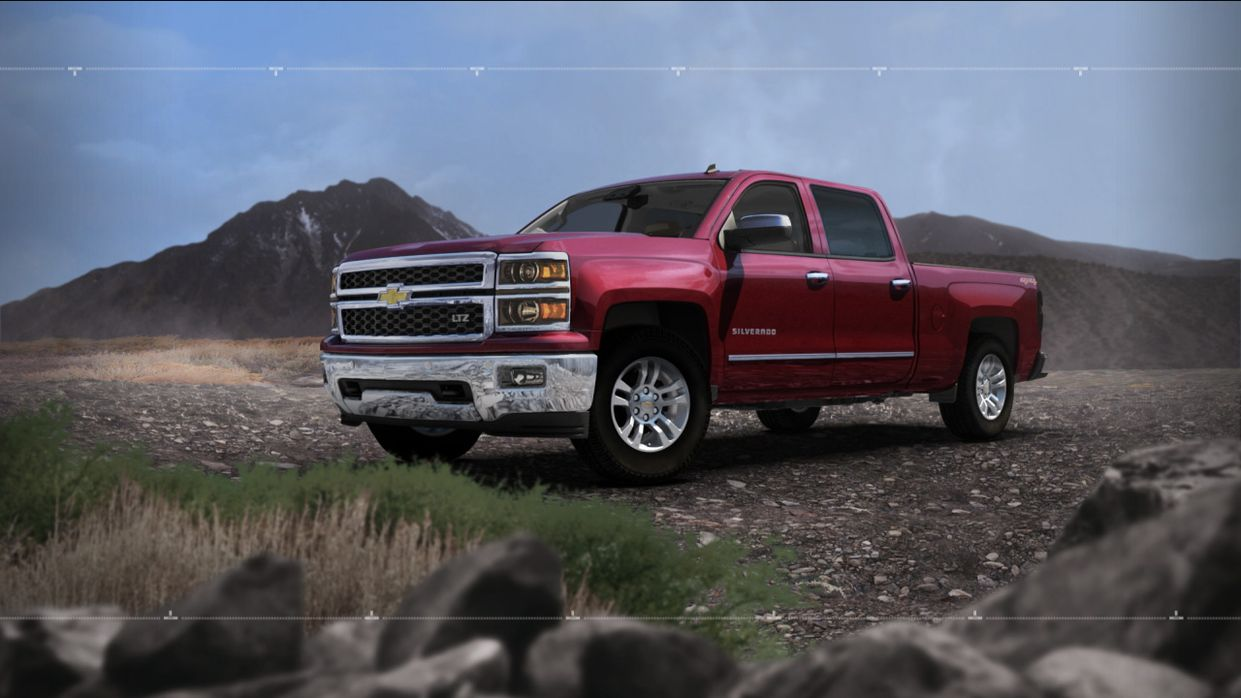 2014 silverado full size pickup truck chevrolet
