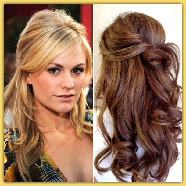 resultado de imagen para peinados para boda con trenzas para cabello largo - Peinados Pelo Largo Suelto