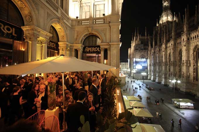 Terrazza Aperol Rooftop Bar Milan A Place In Milan Ciao