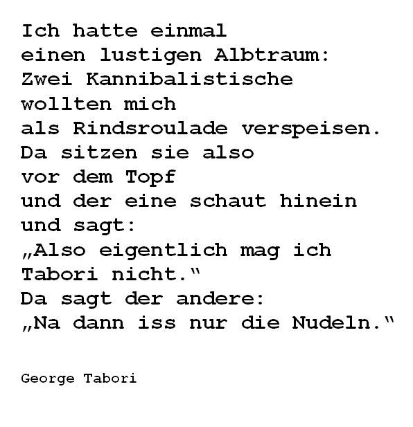 #Quote #Tabori #Traum