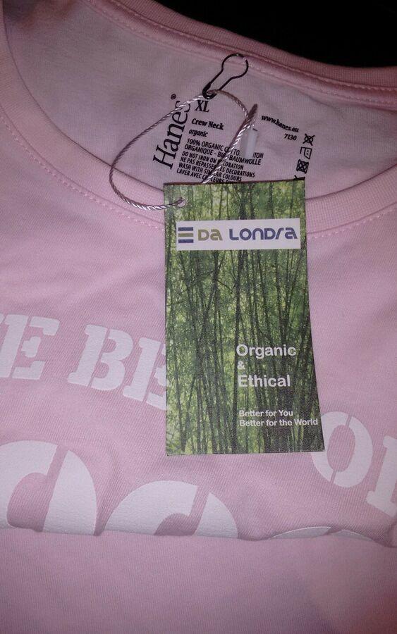 460e878b98316a BNWT 100 Organic Cotton XL   Best of 1996  T-SHIRT Baby Pink Fab present  Cotton XL apos