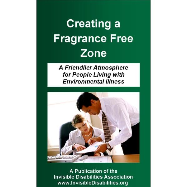 Creating a Fragrance Free Zone Pamphlet 25-Pack Product for sale - free pamphlet