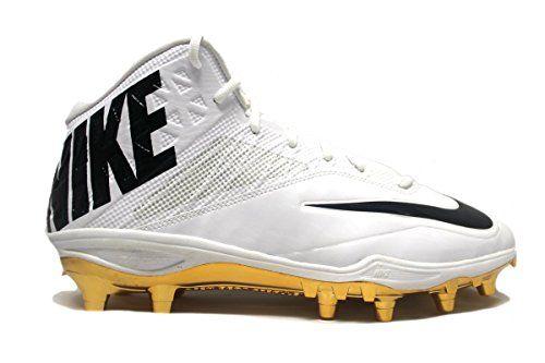 promo code 51b92 65e4f Nike Men s Special Promo Zoom Code Elite 3 4 TD Football Cleats (13,  White Black-Metallic Gold)