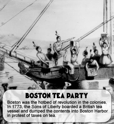Boston Tea Party Reading Social Studies Social Studies
