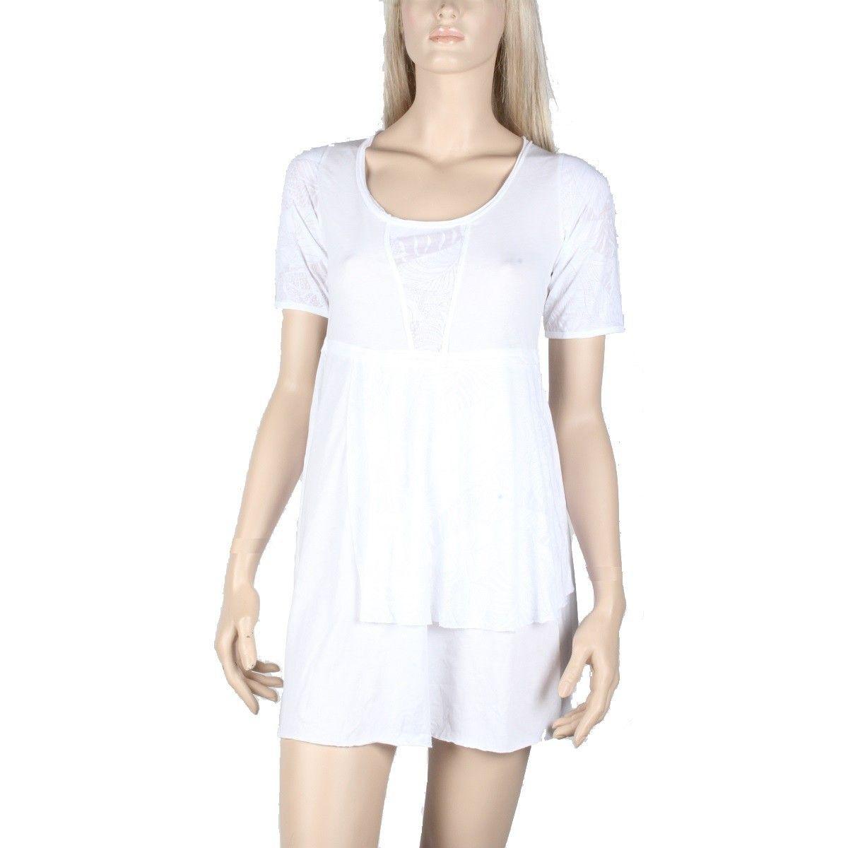 Tunique Maloka en coton couleur blanc