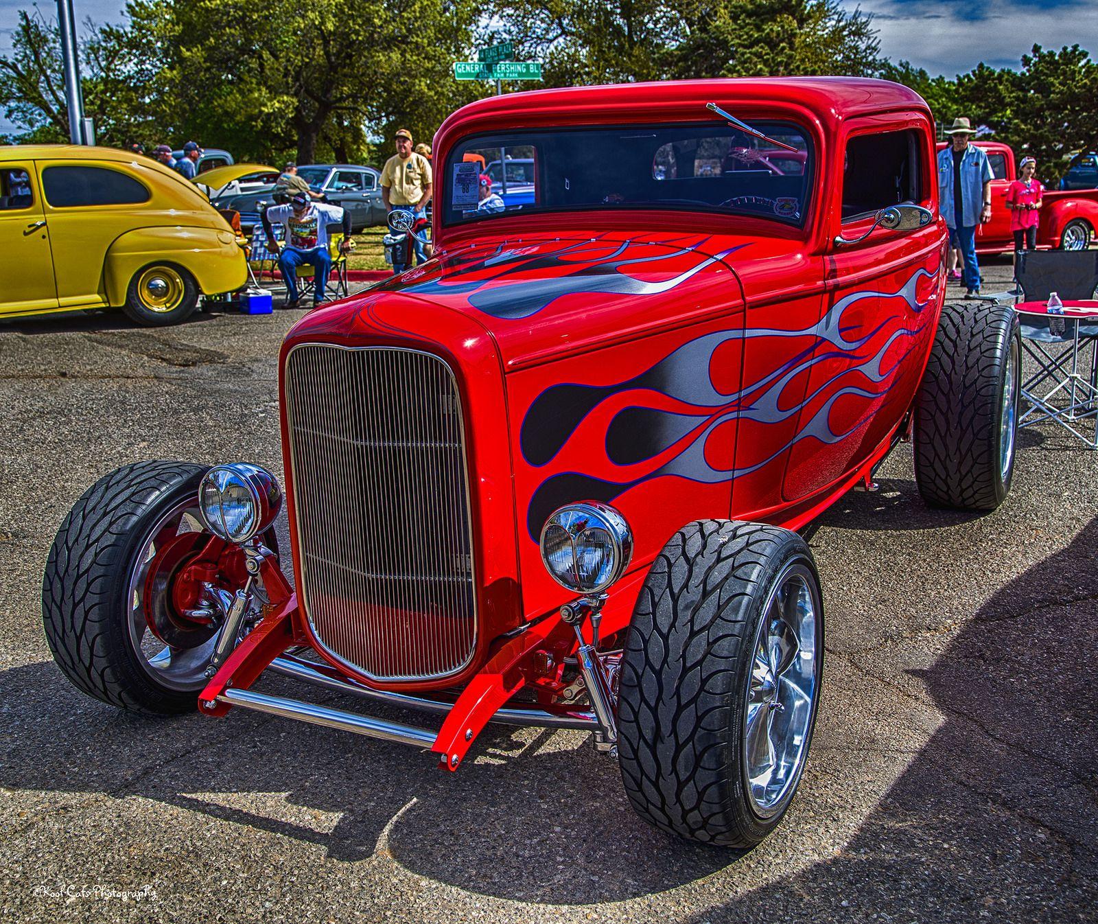 Hot Red Street Rod_